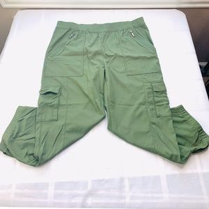 Lucy Combat Jogger Crop Army Pants Sz M